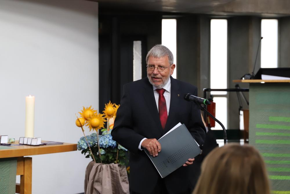Dr. Johannes Feldmann, Vorsitzender des Diakonischen Rates des Diakonischen Werkes Berlin-Brandenburg