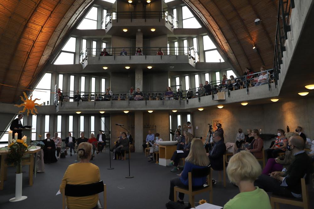 Innenraum der Dreieinigkeitskirche Berlin